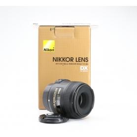 Nikon AF-S 2,8/40 Micro G DX (227200)