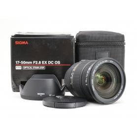 Sigma EX 2,8/17-50 DC IF HSM OS NI/AF D (227293)