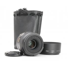 Nikon AF-S 2,8/40 Micro G DX (227413)