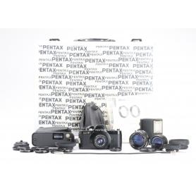 Pentax Auto 110 Set + AF130P Blitz + Close-Up Lenses (227423)