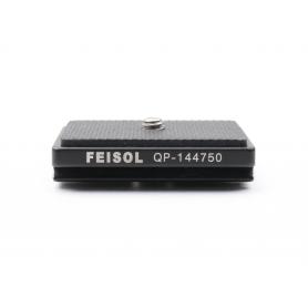 Feisol QP-144750 Klemmplatte Stativplatte (227528)