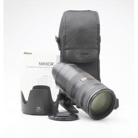 Nikon AF-S 2,8/70-200 G IF ED VR II (227631)