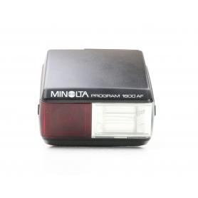 Minolta Program 1800 AF Blitzgerät (227742)