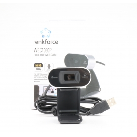 Renkforce FULL-HD Webcam RF-WC1080P (227668)