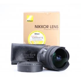 Nikon AF 2,8/16 D Fisheye (227870)