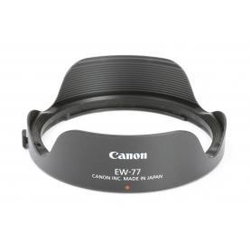 Canon Gegenlichtblende EW-77 Sonnenblende für Canon 8-15 mm (227961)