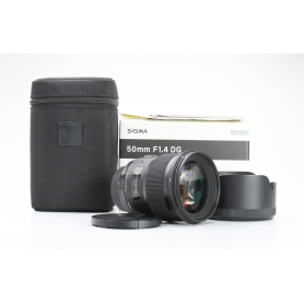 Sigma EX 1,4/50 DG HSM ART NI/AF D (228156)
