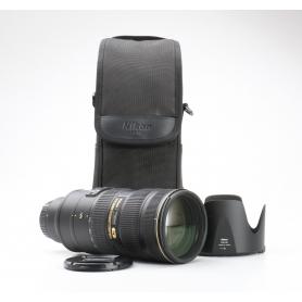 Nikon AF-S 2,8/70-200 G IF ED VR II (228193)