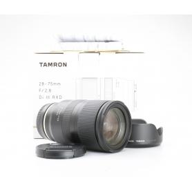 Tamron RXD 2,8/28-75 IF DI III für Sony E-Mount (228235)