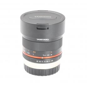 Samyang UMC 3,5/8 Fisheye CS II für Fujifilm XC / FX (228327)