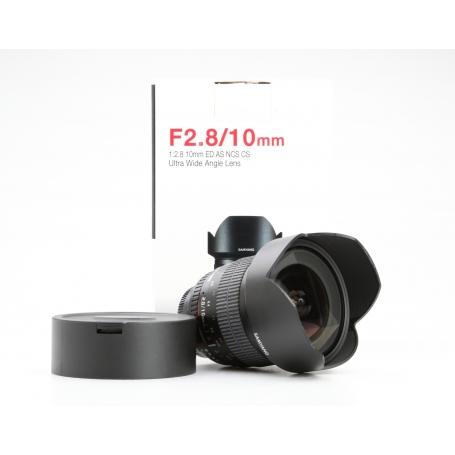 Walimex 2,8/10 ED AS NCS CS Ultra Wide für Nikon (228390)