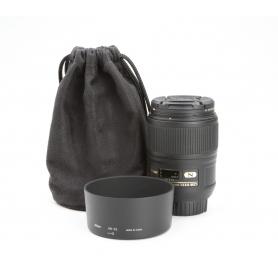 Nikon AF-S 2,8/60 Micro G ED (228409)