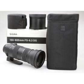 Sigma DG 5,0-6,3/150-600 HSM OS S Sports C/EF (228425)