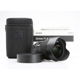 Sigma DG 1,4/20 HSM ART NI/AF D (228459)