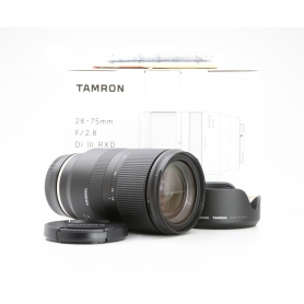Tamron RXD 2,8/28-75 IF DI III für Sony E-Mount (228492)