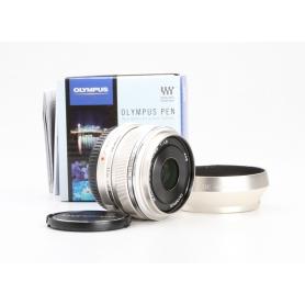 Olympus M.Zuiko Digital 1,8/17 Silver (228629)