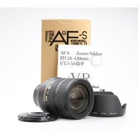 Nikon AF-S 3,5-5,6/24-120 G IF ED VR (228635)