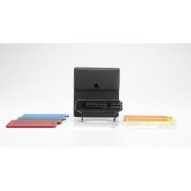 Minolta Blitzfilter Farbfilter Set Aufsatz Panel Adapter (228651)