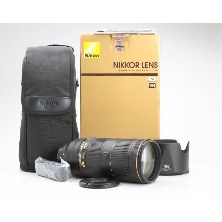 Nikon AF-S 2,8/70-200 E IF FL ED VR (228732)