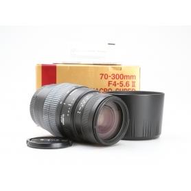 Sigma EX 4,0-5,6/70-300 II DG Makro C/EF (228641)