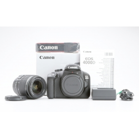 Canon EOS 4000D mit Canon EF-S 18-55 III Objektiv (Neuware) (228939)