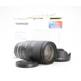 Tamron RXD 2,8/28-75 IF DI III für Sony E-Mount (228842)