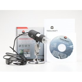 Toolcraft Mikroskopkamera Digimicro 2.0 Scale USB Mikroskop 2 Mio. Pixel Vergrößerung (max.): 200 x (228917)