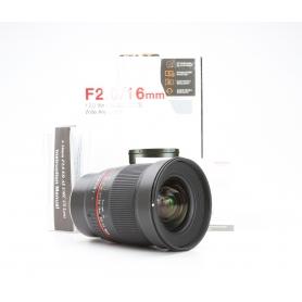 Samyang 2,0/16 ED AS UMC CS für Fujifilm XC / FX (228974)