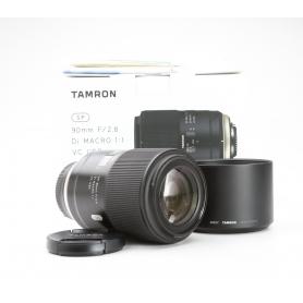 Tamron SP 2,8/90 Makro DI VC USD (F017) Ni/AF (229155)