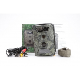 Berger und Schröter X-Trail HD Wildkamera 12 Mio. Pixel Black LEDs Khaki-Braun (matt) (229157)