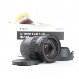 Sigma DC 2,8-4,0/17-70 OS HSM Makro Contemporary C/EF (229208)