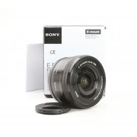 Sony E PZ 3,5-5,6/16-50 OSS Schwarz E-Mount (229395)