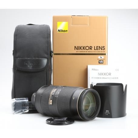 Nikon AF-S 4,5-5,6/80-400 VR ED G N (229429)