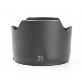 Nikon HB-40 Gegenlichtblende Geli Blende (229485)