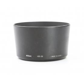 Nikon HB-26 Gegenlichtblende Geli Blende (229530)
