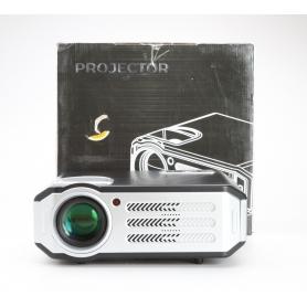 Beamer Projektor 4800 Lumen 7500:1 FHD HDMI USB VGA grau schwarz (229623)