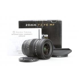 Tokina Firin 2,0/20 MF für Sony FE E-Mount (229713)