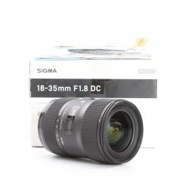 Sigma DC 1,8/18-35 HSM IF Art NI/AF D (229722)