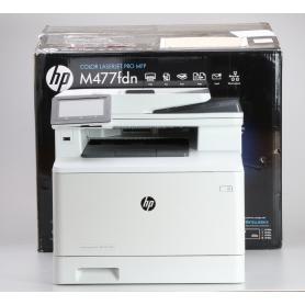 HP Color LaserJet Pro MFP M477fdn Farblaser-Multifunktionsdrucker A4 Drucker Scanner Kopierer Fax LAN WLAN weiß (229741)
