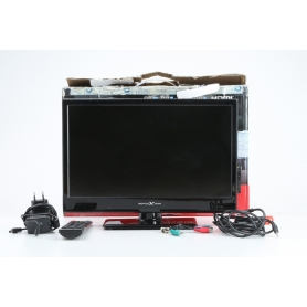 "Reflexion LDD1616 15,6"" LED TV Fernseher HD ready DVD Player Camping schwarz (229751)"