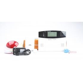 EVOLU7 GSM Alarmanlage Funk-Außensirene integrierter Sender Detektor Bewegungsmelder (229777)