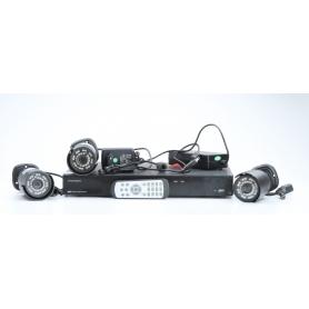 Thomson 512321 Überwachungskamera-Set analog IR-LED 1TB schwarz (229742)