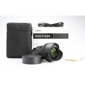 Sigma DG 1,8/14 HSM ART für Sony E-Mount (229851)