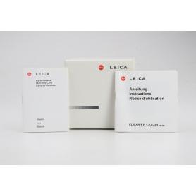 Leica Elmarit-R 28mm 2,8 11333 NUR VERPACKUNG (229856)