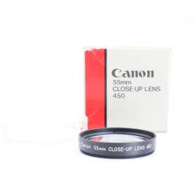 Canon 55 mm Close-Up Lens 450 Nahlinse A-0288 (229867)