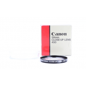 Canon 58 mm Close-Up Lens 450 Nahlinse A-1345 (229869)