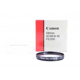 Canon UV-Filter 58 mm Skylight 1x E-58 (229871)