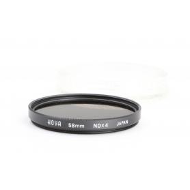 Hoya UV-Filter 58 mm NDx4 E-58 (229872)