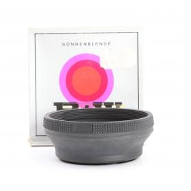 B+W 58 mm Gummi Sonnenblende Lens Hood (229885)