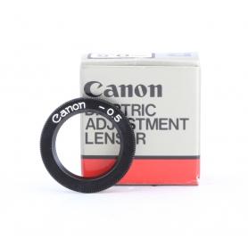 Canon Augenkorrekturlinse -0.5 R-0161 Dioptric Adjustment Lens R (229894)